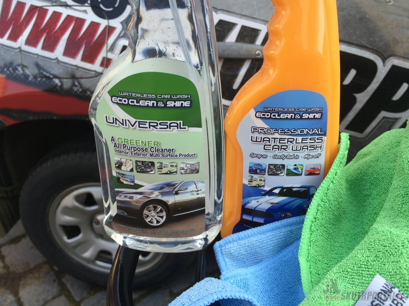 Eco Clean & Shine - Ekologická Autokosmetika