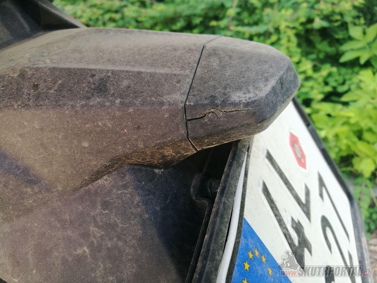 Keeway CityBlade 125 - první mouchy na obzoru