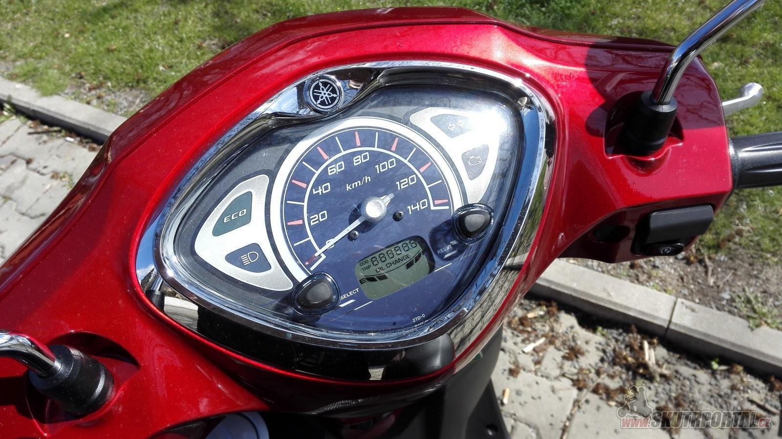 Yamaha D'elight 125 - malý skútr s velkou duší