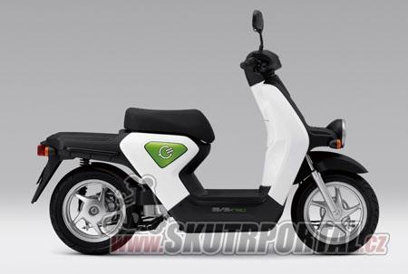 Elektroskútry Honda EVE neo