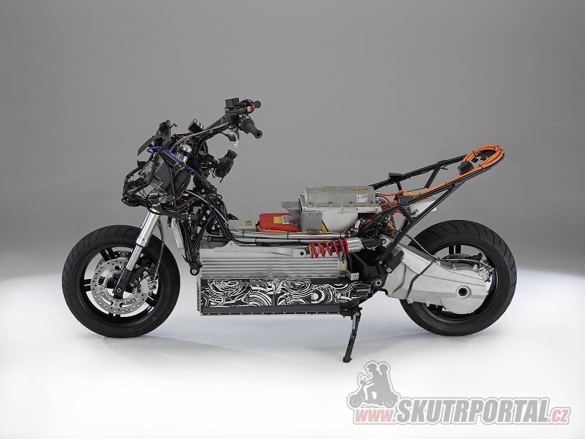 BMW E-Scooter: elektroskútr od BMW