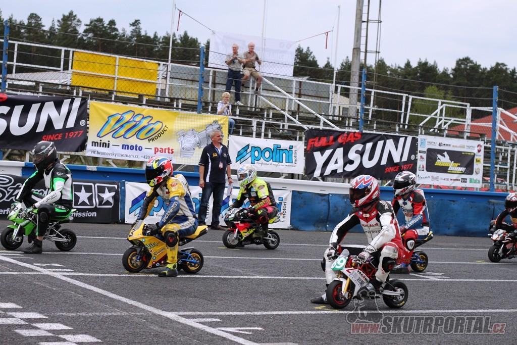 Mezinárodní přebor České republiky Mini GP, Mini Moto, Skútr Sosnová, 10. 6 2012