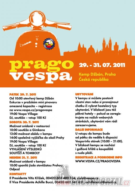 Prago Vespa Days
