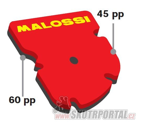Malossi DOUBLE RED SPONGE