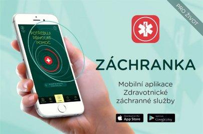 Záchranka - mobilní aplikace, která pomůže záchranářům lokalizovat místo nehody