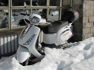 Vzpomínka na zimu 2018 - tip na lyžování a zajímavost pro skútříkáře