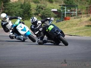 Mezinárodní přebor České republiky skútrů, MiniGP a Mini Moto 3. závod, Vysoké Mýto, 7.-8. 7. 2012