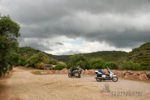 013: Moto Cesta 2012 na skok, do Španělska....