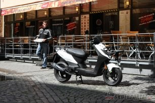 09: kymco agility carry 50