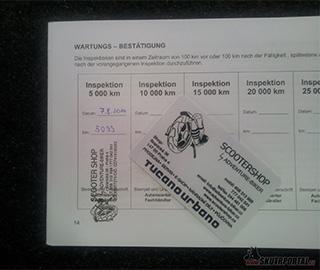 001: kymco k-xct 300 na garanční prohlídce