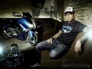 Yamaha T-Max v podání Marcuse Walze