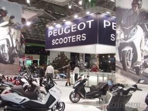 Výstava INTERMOT 2010 - část 1. (Peuget, Yamaha, Suzuki, Honda)