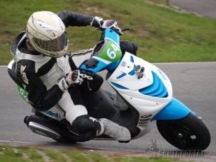 Mezinárodní přebor České republiky skútrů, MiniGP a Mini Moto 6. závod, Vysoké Mýto, 15. - 16. 9. 2012