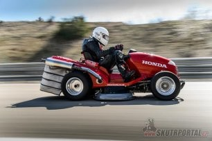 007: Honda Mean Mower