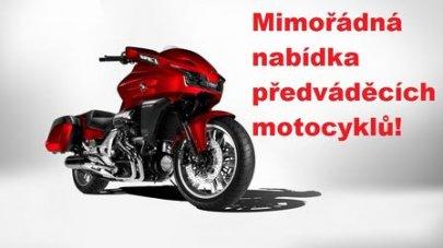 Mimořádná nabídka předváděcích motocyklů!