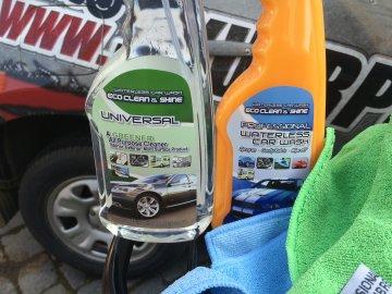 03: Eco Clean & Shine - Ekologická Autokosmetika