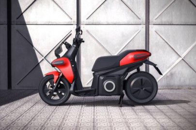 01: Seat E-Scooter