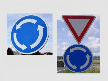 Nová změna v silničním zákoně – přednost na kruhovém objezdu