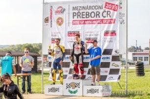 014: Mezinárodní přebor MiniGP, Mini moto, Skútr – Vysoké Mýto 7. - 8. 9 . 2013