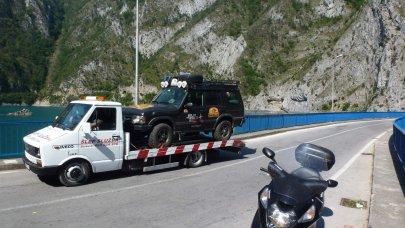 008: Albánie a Balkán na skútrech
