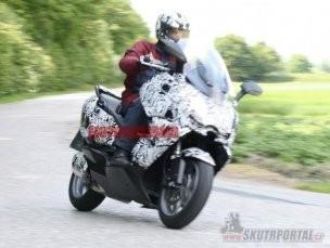 """""""Špionážní"""" foto nového skútru od BMW!"""
