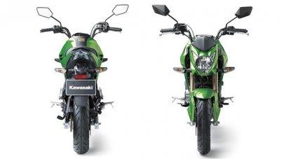 004: Kawasaki Z125 - motorka s automatem