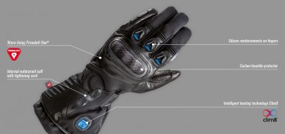 01: Inteligentní vyhřívané rukavice IXON