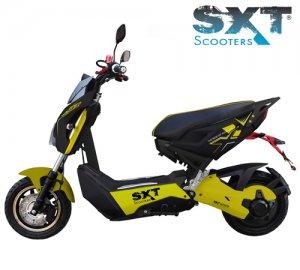 04: SXT Raptor 1200 - elektroskútr s moto vizáží