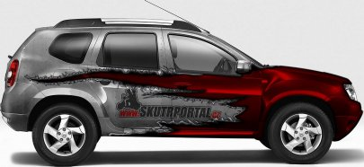 02: Dacia Duster ve službách Skútrportálu