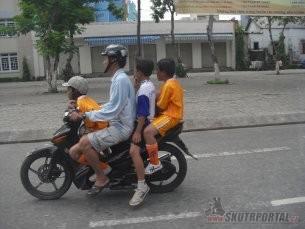 Vietnam, země skútrům zaslíbená