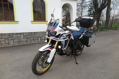 016: Honda Africa Twin CRF1000L - Návrat legendy