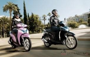 Stylová Honda SH Mode 125 již brzy u nás!