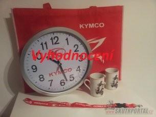 Vyhrajte dárky od Kymca - vyhodnocení