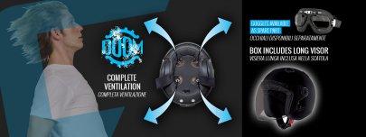 06: Caberg Doom - nová JET helma pro skútraře