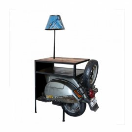 03: Designový nábytek pro milovníky skútrů