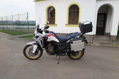 017: Honda Africa Twin CRF1000L - Návrat legendy