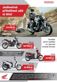 02: Honda zlevňuje vybrané modely