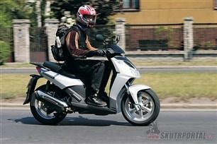 Aprilia Sportcity 200. Sport ve městě