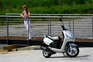Peugeot New Vivacity. Spoutaný bonbónek