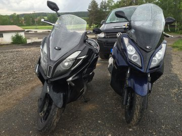 041: Kymco Downtown 350i vs Kymco Downtown 300i