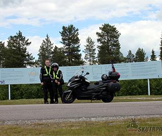 Švédsko a Norsko na skútru aneb 6369 km v sedle