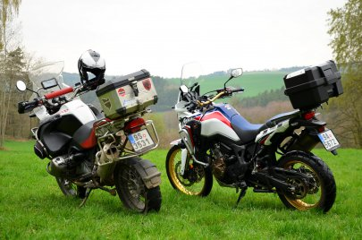 008: Honda Africa Twin CRF1000L - Návrat legendy