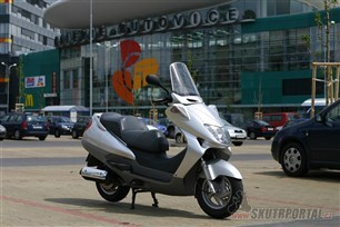 Honda Foresight 250. Zelený comeback