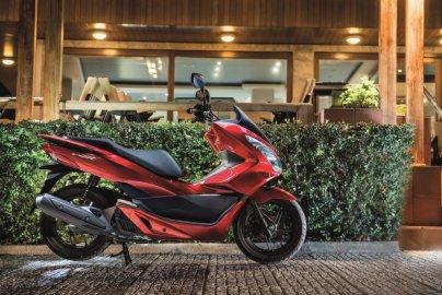 02: Honda PCX 125, modelový rok 2017