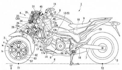 Honda na 3 kolech?