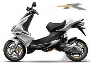 Koncept Xenophya - Yamaha Aerox