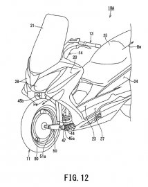 04: Hybridní skútr od Suzuki?
