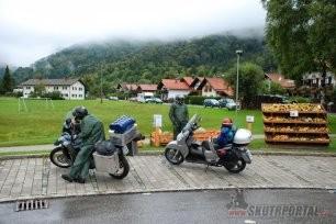 02: Moto Cesta 2012 na skok, do Španělska....
