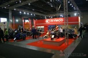 motosalon 2014 - kymco