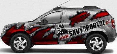 Dacia Duster ve službách Skútrportálu